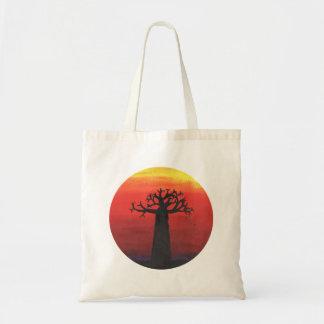 Bolsa Tote Por do sol do Baobab