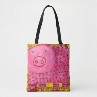 Bolsa Tote Porco modelado