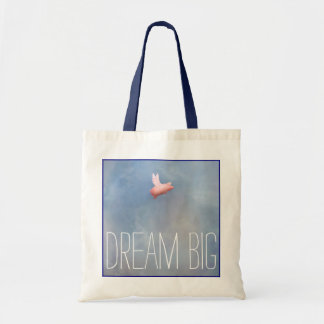Bolsa Tote Porco-Sonho do vôo grande