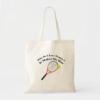 Bolsa Tote Porque faz o tênis do amor de I. Faz-me quente