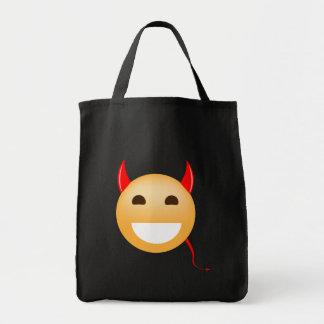 Bolsa Tote Pouco diabo de Emoji