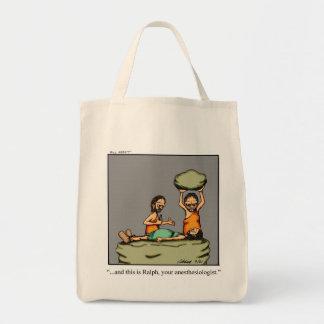 Bolsa Tote Presente engraçado da sacola do homem das cavernas