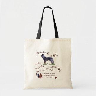 Bolsa Tote Presentes australianos da arte do cão do gado