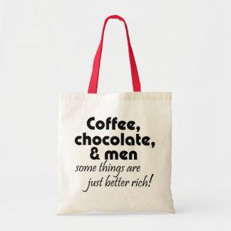 Bolsa Tote Presentes da piada do café das mulheres engraçadas