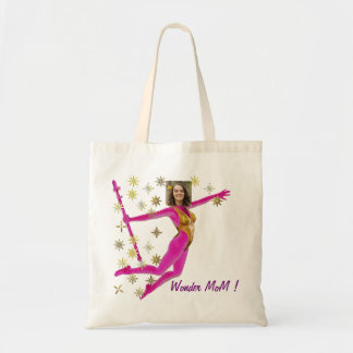 Bolsa Tote Princess Fairy Wand, Pink Fushia - with YOUR Pho