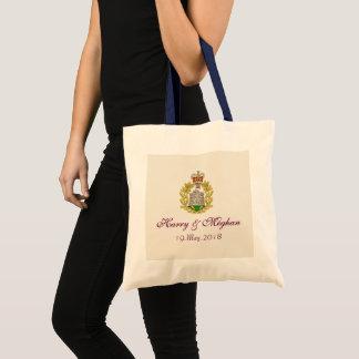 Bolsa Tote Príncipe Harry de HRH e sacola do casamento de