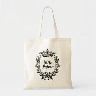 """Bolsa Tote """"príncipe pequeno"""" sacola"""