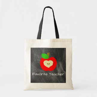 Bolsa Tote Professor favorito Apple na sacola do quadro