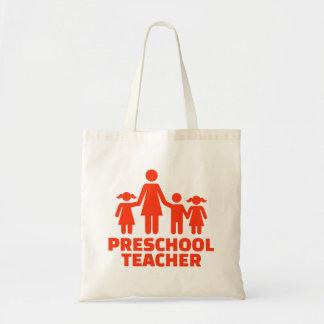 Bolsa Tote Professor pré-escolar