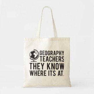 Bolsa Tote Professores da geografia, sabem em onde é