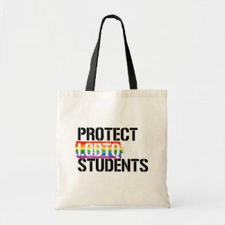 Bolsa Tote Proteja estudantes de LGBTQ - - os direitos de