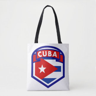 Bolsa Tote Protetor da bandeira de Cuba