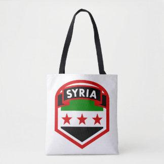 Bolsa Tote Protetor da bandeira de Syria