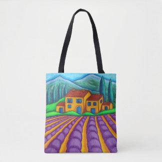 Bolsa Tote Provence colore o saco por Lisa Lorenz