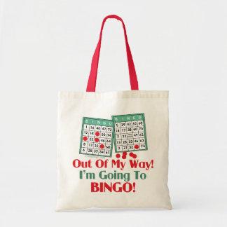 Bolsa Tote Provérbio engraçado do Bingo