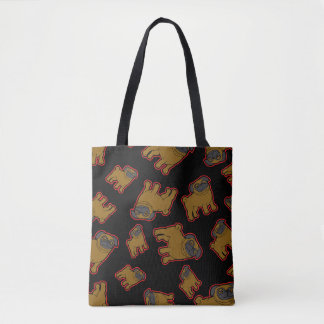 Bolsa Tote Pug #7