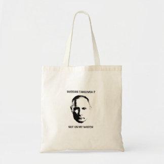 Bolsa Tote Putin - não em minha sacola do relógio
