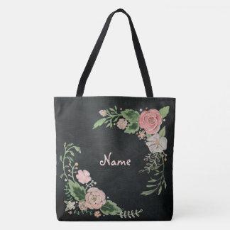 Bolsa Tote Quadro floral