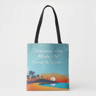 Bolsa Tote Que sonhos são feitos da sacola