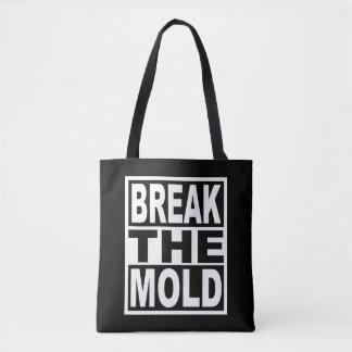 Bolsa Tote Quebre o molde