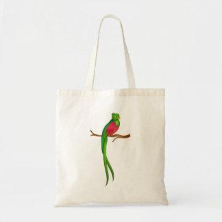 Bolsa Tote Quetzal bonito do pássaro