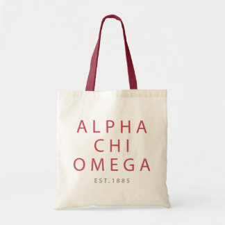 Bolsa Tote Qui alfa Omega | Est. 1885