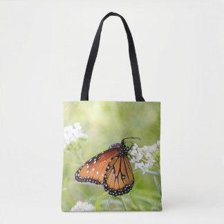 Bolsa Tote Rainha que expor ao sol no milkweed