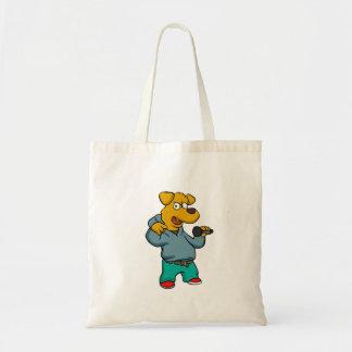Bolsa Tote Rapper do cão amarelo