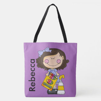 Bolsa Tote Rebecca ama pastéis
