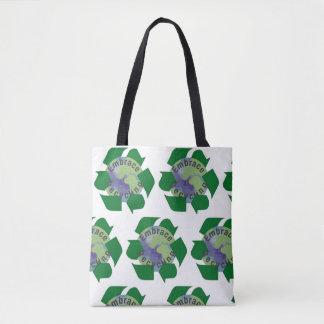 Bolsa Tote Reciclagem do abraço