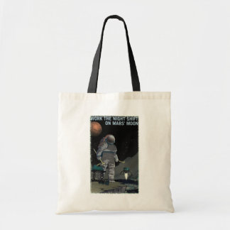 Bolsa Tote Recrutamento de Marte - sacola do turno da noite