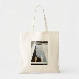 Bolsa Tote Reflexão holandesa da janela da fotografia