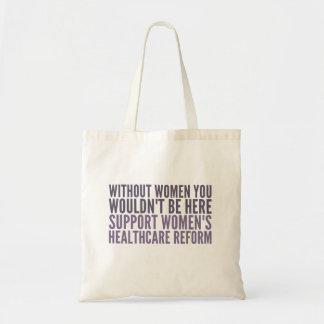 Bolsa Tote Reforma do Healhcare das mulheres do apoio