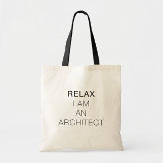 Bolsa Tote Relaxe-me são um saco do arquiteto
