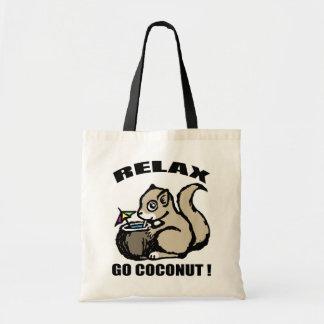 Bolsa Tote Relaxe! Vai o coco