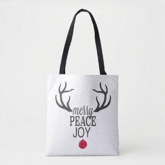 Bolsa Tote Rena moderna do Natal das tendências