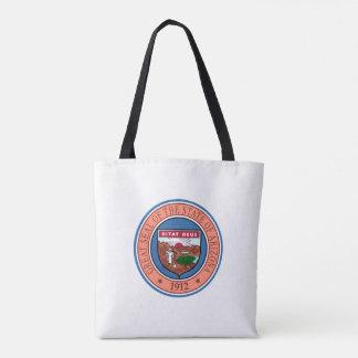 Bolsa Tote Representante do símbolo da bandeira de Estados
