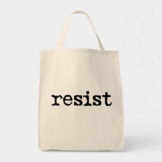 Bolsa Tote RESISTA a sacola do algodão