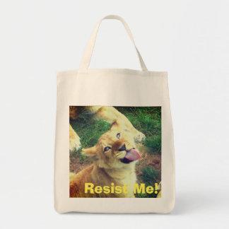 Bolsa Tote Resista-me o bolsa!