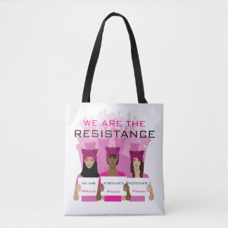 Bolsa Tote RESISTA - nós somos a resistência - chapéus