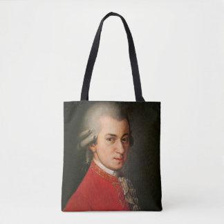 Bolsa Tote Retrato de Mozart Barbara Krafft da música