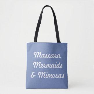 Bolsa Tote Rímel, sereias & Mimosas