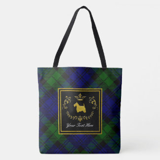 Bolsa Tote Ringside Blackwatch de Terrier do Scottish