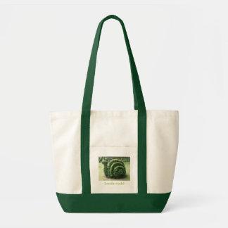 Bolsa Tote Rocha dos caracóis! Compra do jardim do