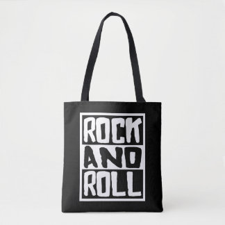 Bolsa Tote Rock and roll