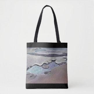 Bolsa Tote Rockplatform estilizado e piscina maré