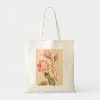 Bolsa Tote Rosa delicado do rosa