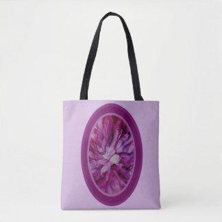 Bolsa Tote Rosa e roxo