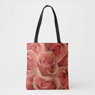Bolsa Tote Rosas vermelhas persas