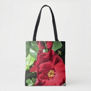 aeda5d627 Bolsas e Sacolas Rosa Vermelha | Zazzle.com.br